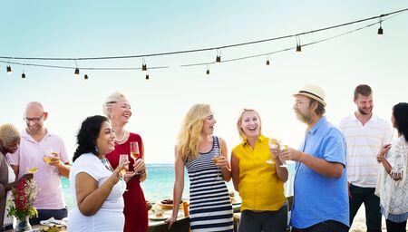 amicizia: Amici Amicizia Group Hug concetto di relazione