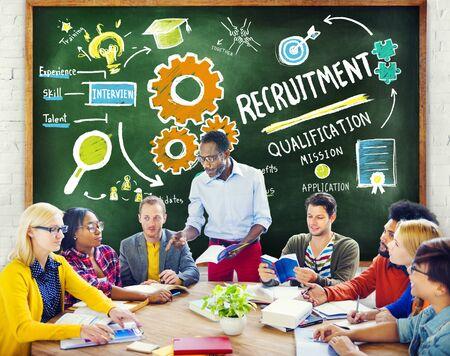 ethnicity: Ethnicity People Education Recruitment Occupation Concept