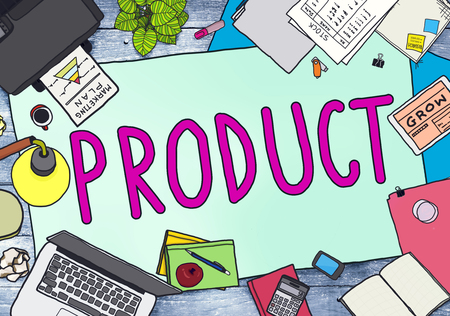 office stuff: Product Branding Commercial Marketing Concept