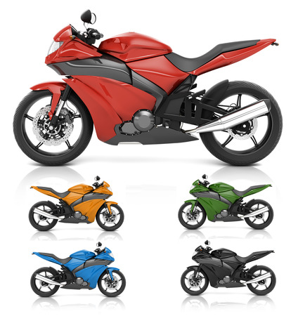propulsion: Motorbike Motorcycle Bike Roadster Transportation Concept Stock Photo