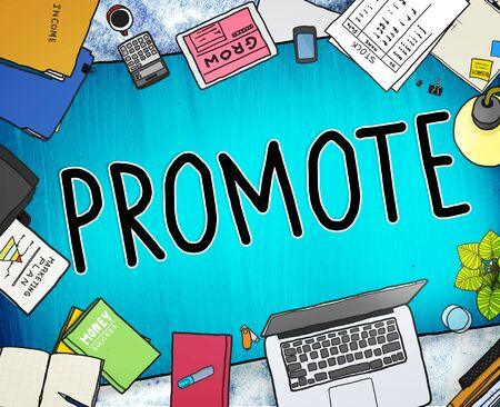 promover: Promote Marketing Plan Commercial Promotion Concept