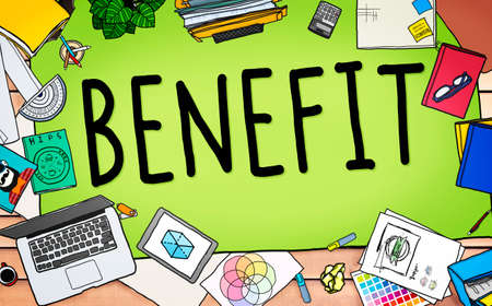 bonus: Benefit Income Incentive Profit Bonus Concept