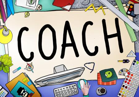 tutor: Guía Entrenador Entrenamiento Instructor Líder Gerente Tutor Concepto
