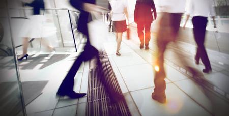 empleado de oficina: Hong Kong de negocios Personas desplazamientos Concept