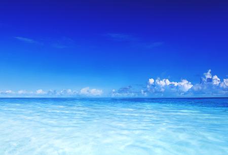 Raj Morze Ocean Sky Blue Tropical Lato Concept wakacje