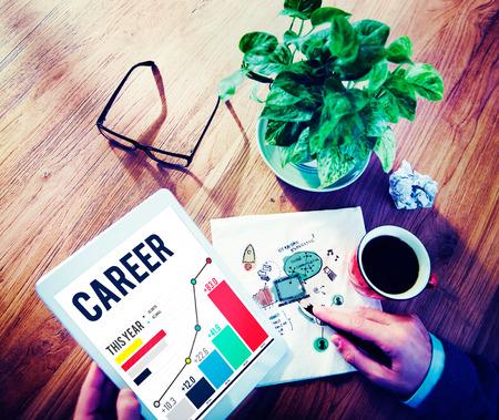 recruitment: Career Employment Job Recruitment Occupation Concept Stock Photo