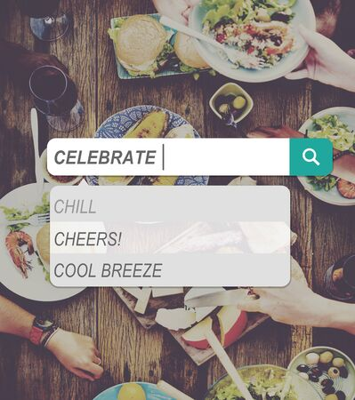 enjoyment: Celebration Cheerful Enjoyment Casual Party Happiness Concept