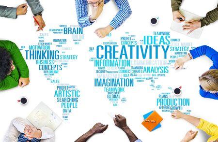 business innovation: Creativity Artistic Imagination Inspiration Innovation Concept