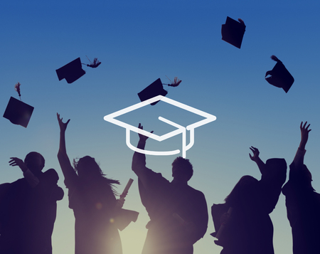 mortar board: Mortar Board Education Knowledge Wisdom Graduation Concept Stock Photo
