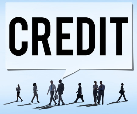 accounting: Credit Accounting Banking Financial Business Concept