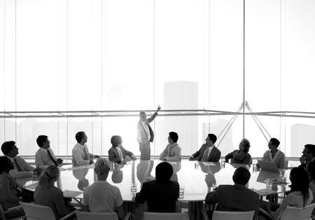 会議室ビジネス会議リーダーシップ コンセプト 写真素材 - 46599881