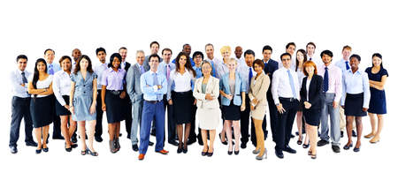 Business People Corporate Communication Office Team Concept Фото со стока
