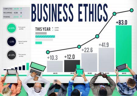ビジネス民族哲学責任誠実さ概念