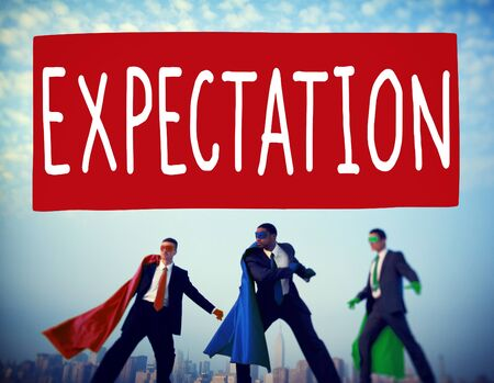 eagerness: Expectation Prediction Hope Strategy Planning Concept