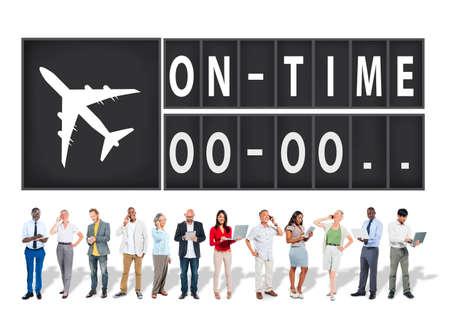 punctual: On Time Eficiencia Puntual Organizaci�n Concepto de Gesti�n