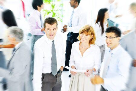 Gente de negocios Comunicación corporativa Equipo Concepto de equipo