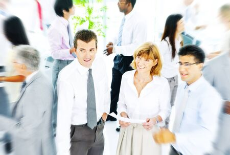 Geschäftsleute Corporate Communication Office-Team-Konzept
