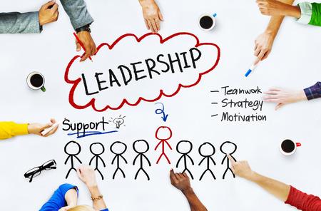 authoritarian: Lead Leadership Chief Team Partnership Concept