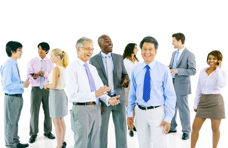 organised group: Business People Team Teamwork Cooperation Partnership Concept Stock Photo