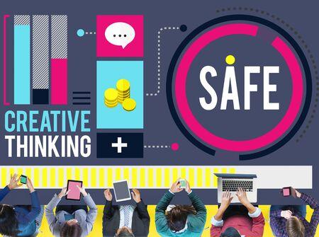 secret place: Safe Saving Protection Security Security Lock Concept
