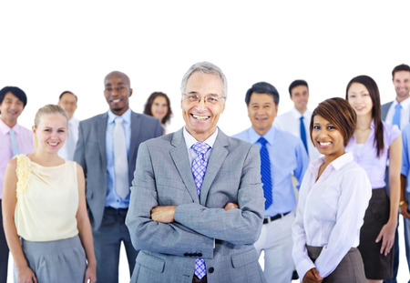 бизнес: Концепция бизнес-группа людей Командная Партнерское сотрудничество Фото со стока