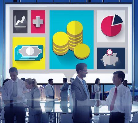 cash cycle: Savings Money Financial Budget Cash Banking Concept