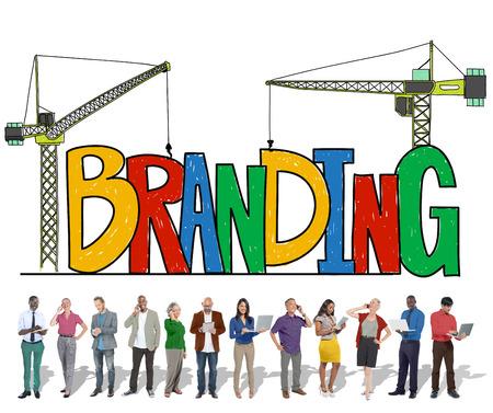trademark: Branding Market Name Strategy Trademark Concept