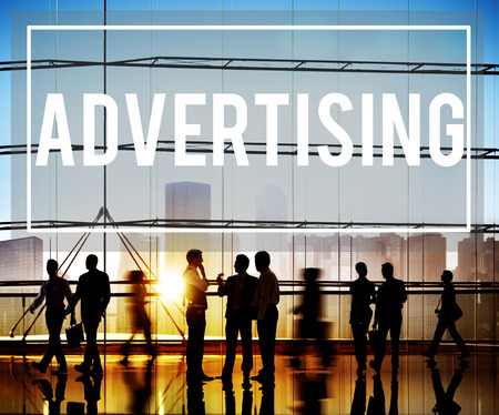 Advertising Commercial Marketing Strategy Promotion Concept Archivio Fotografico