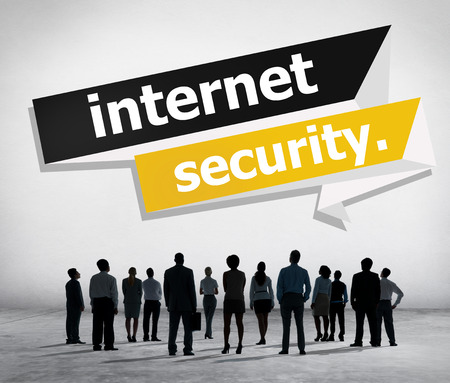 Internet Security Protection Phishing Prevent Protect Concept Stock Photo