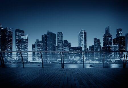 metropolis: Cityscape Architecture Building Business Metropolis Concept
