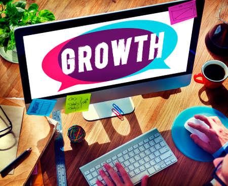 online: Growth Grow Development Improvement Change Concept