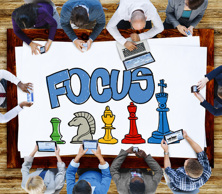 concentrate: Focus Focal Concentration Attention Concept