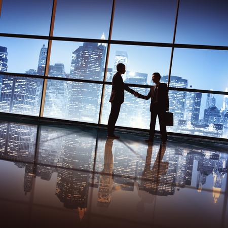 business resources: Businessmen Deal Business Handshake Greeting Concept