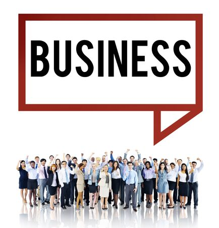 profit celebration: Business Financial Investment Opportunity Development Concept