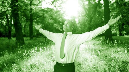 freedom nature: Business Relaxation Refreshing Freedom Nature Concept