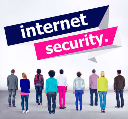phishing: Internet Security Protection Phishing Prevent Protect Concept Stock Photo