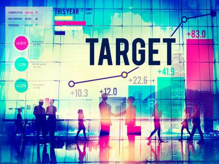 aim: Target Goal Aspiration Aim Vision Success Concept