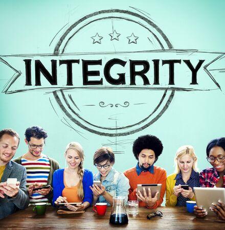 core strategy: Integrity Attitude Belief Fairness Trustable Concept