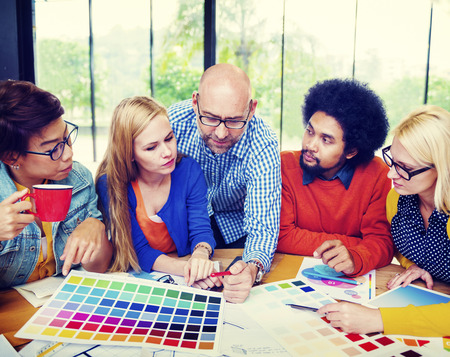 designer: Designers Team Creative Occupation Working Planning Concept