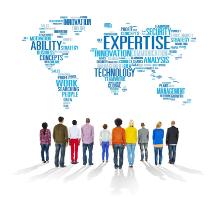 expertise: Expertise Career Job Profession Occupation Concept Stock Photo