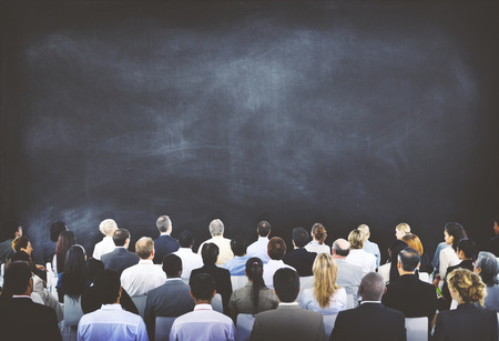 employees group: Diverse Business People Conference Audience Concept Stock Photo