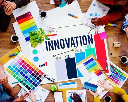 organisational: Innovation Innovate Inspiration Invention Imagination Concept
