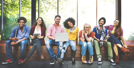 women friendship: Diversity Teenagers Friends Friendship Team Concept