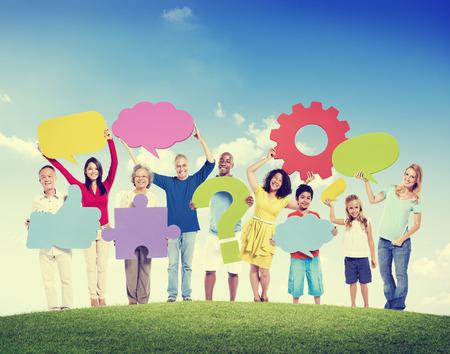 diversity: Diversity Group of People Socail Media Community Concept
