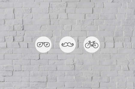 trend: Lifestyle Cool Trend Icon Illustration Concept