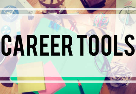 recruit help: Career Tools Guidance Employment Hiring Concept