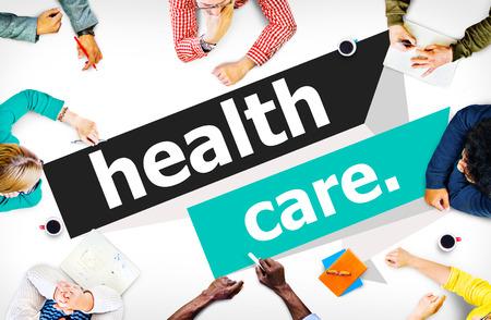 ヘルスケア: 医療医療生活病気の物理的な概念