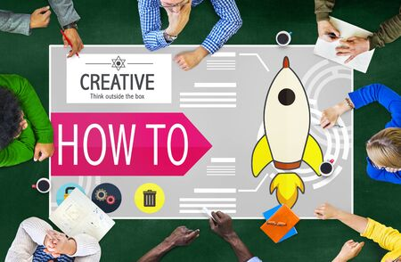 business innovation: Creative Innovation Development Growth Success Plan Concept Stock Photo