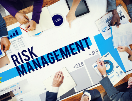 risk management: Risk Management Opportunity Planning Safety Concept Stock Photo