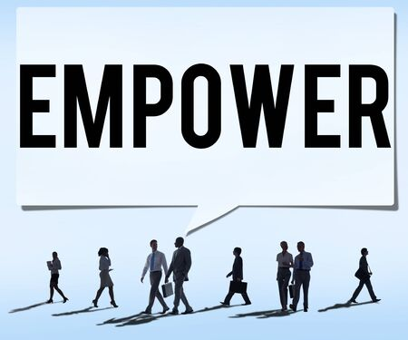 allow: Empower Authority Permission Empowerment Enhance Concept